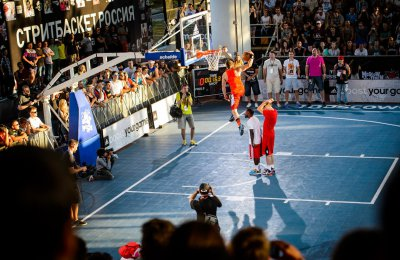Adidas Slam Dunk Contest 2014. Moscow Open 2014.